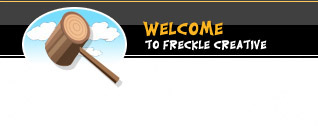 Welcome to Freckle Creative